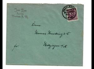 Haselbach /Sachs. Meiningen 1923 nach Kitzingen