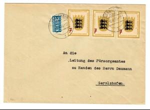 MeF Wiesentheid nach Gerolzhofen 1955