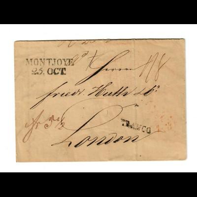 1842 Brief Montjoye nach London