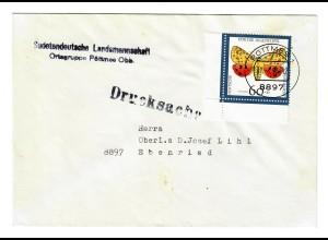 1993 Drucksache von Pöttmes nach Ebenried