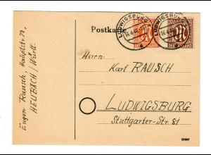Heubach 1946 nach Ludwigsburg