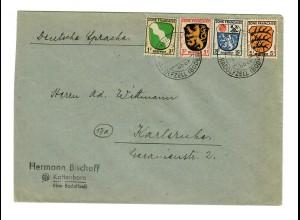 Kattenhorn/Radolfzell 1947 Karlsruhe