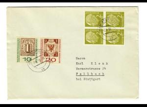 Brief 2.6.1959 von Stuttgart nach Fellbach