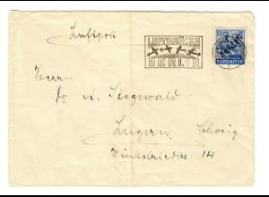 Brief aus Berlin, Werbestempel Luftbrücke, 1948 nach Luzern/Schweiz