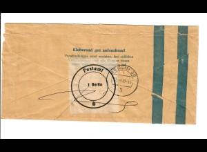 Geldschein Banderole 100 DM, Berlin 1970