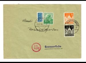 1950 Martheidenfeld nach Kreuzwertheim