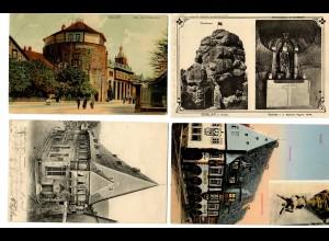 6x Ansichtskarten Goslar