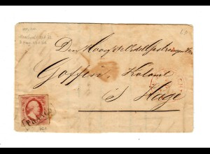 Maastricht 1862 to Den Haag, catalog #2