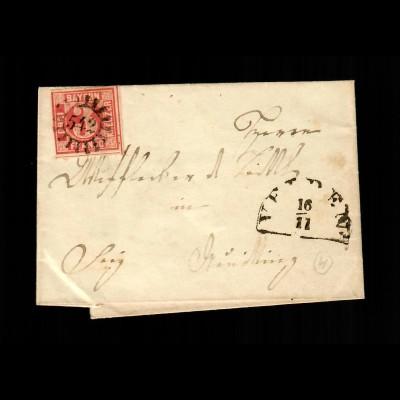 Brief aus Velden - 542 - nach Neu Oettling