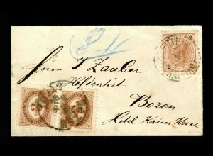 Brief nach Bozen 1894
