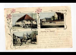 Ansichtskarte Somsdorf bei Tharandt 1918