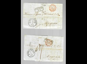 2x covers from Denmark/Kobenhaven to Mugron/France