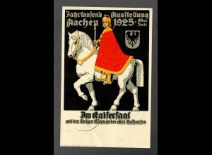 Jahrtausend Ausstellung Aachen Stempel b und d, Sonderstempel 1926 Rheuma, ..