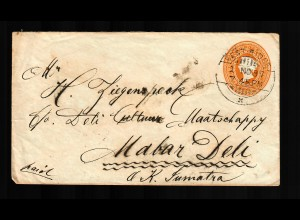 India: 1897 West-Ridge to Deli via Sumatra, Tuticorin, ...