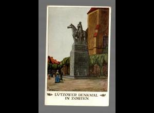 AK: Lützower Denkmal in Zobten aus Rogau/Rosenau 1913, Jahrhundertfeier
