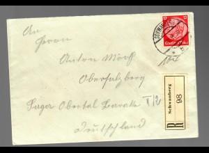 Einschreiben Schwarzberg 1938 nach Obersalzberg: Lager Obertal - Ausbau