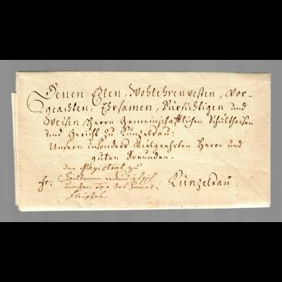 Vorphila Heilbronn 1772 nach Künzelsau