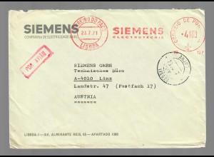 Anjos 1971, Lisboa, Siemens GmbH to Austria