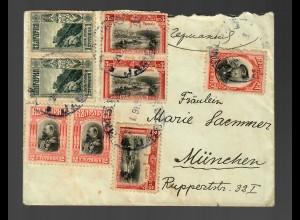 Bulgarien: Jambol 1916 to München