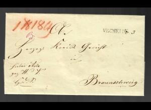 Vorphila Vechelde nach Braunschweig mit Text von 1820