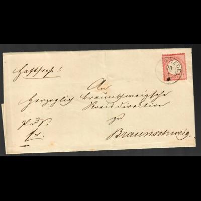 Brief aus Burgwedel nach Braunschweig