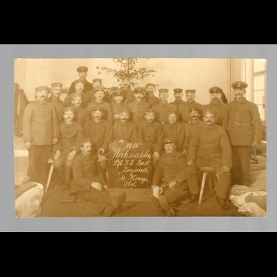 Foto Ansichtskarte Hof 1915, Bayreuth