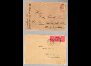 SBZ: 5x Briefe aus Meckl. Vorpommern 1946 nach Westdeutschland