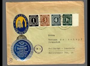 Leipzig-lob ich mir: 1946 nach Heilbronn