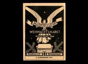 Weihnachtsmarkt Konstanz 1946, Ausstellung Weihnachtsmarkt