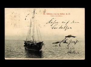 Post card Baikal sea from Mockba 1903 to Berlin/Germany