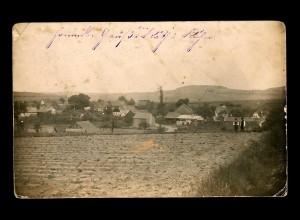 Fotokarte Hauzendorf Feldpost, 1914