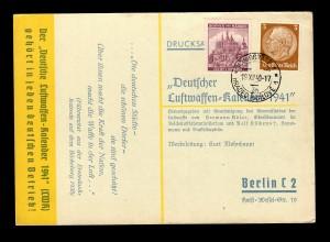 Drucksache Karte mit B&M Königgrätz nach Berlin