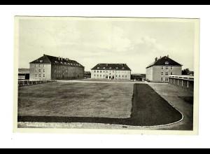 Ansichtskarte Kaserne Leisnig/Sachsen nach Chemnitz 1938