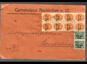 Gemeinderat Neukirchen v. W. nach Landshut 1922