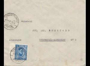 Ägypten/Egypte: 1935: Cairo nach Wuppertal-Hahneberg