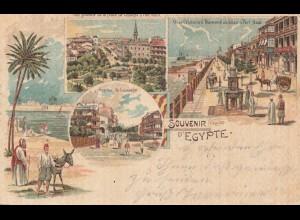 Ägypten/Egypte: 1901: Ansichtskarte