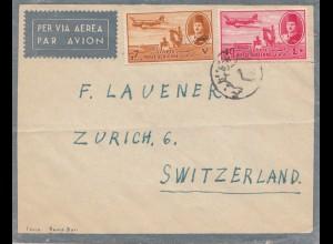 Ägypten/Egypte: Luftpost Cairo nach Zürich