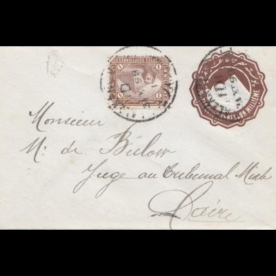 Ägypten/Egypte: 1898: Ganzsache nach Cairo