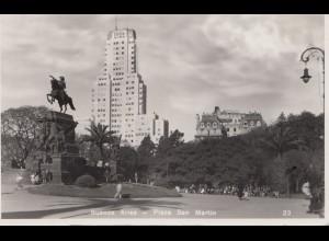 Argentinien: 1936 Ansichtskarte Buenos Aires nach Zürich