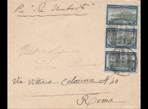 Argentinien: 1910: Navigatione General nach Rom