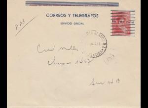 Argentinien: 1910: Ganzsache : SIN VALOR POSTAL