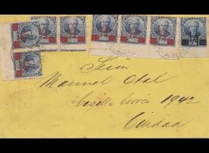 Argentinien: 1912: Brief aus Buenos Aires