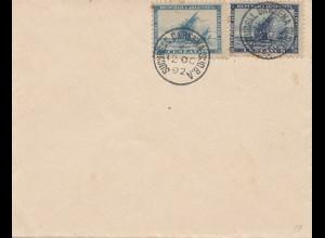 Argentinien: 1892: FDC
