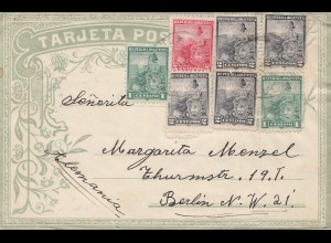 Argentinien: 1906: Brief nach Berlin