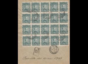 Argentinien: 1890: Buzonistas Capital