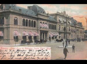 Argentinien: 1905: Ansichtskarte Buenos Aires nach Berlin