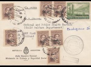 Argentinien: Servicio Oficial, Ministerio de Trabajo nach Den Haag, Holland