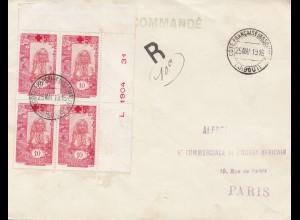 Äthiopien: 1916: Cote Francaise des Somalis Djibouti nach Paris