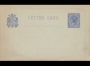 Australia Letter card K4, unused