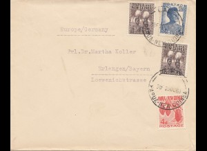 Papua New Guinea 1960: Letter to Germany